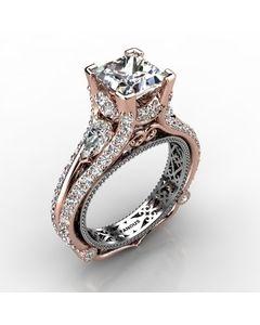 Rose Gold Diamond Ring 1.934cts SKU: 1003053-rose