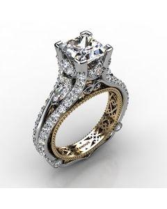 18k White Gold Diamond Ring 1.934cts SKU: 1003053-18kw