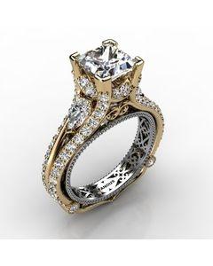 18k Yellow Gold Diamond Ring 1.934cts SKU: 1003053-18ky